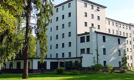 Building of the Institute for Brain Research of the Kaiser Wilhelm Society, now named after the founders Cécile and Oskar Vogt