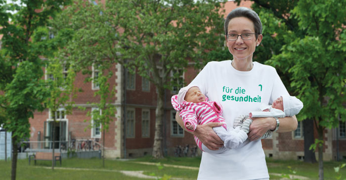 Dr. Annette Isbruch is a specialist in Berlin-Buch for high-risk pregnancies